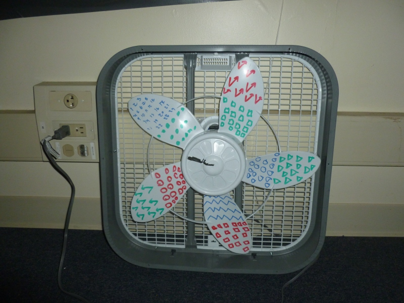 One of the fans